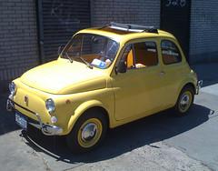 automobile, fiat, fiat 500, vehicle, city car, fiat 500, land vehicle,