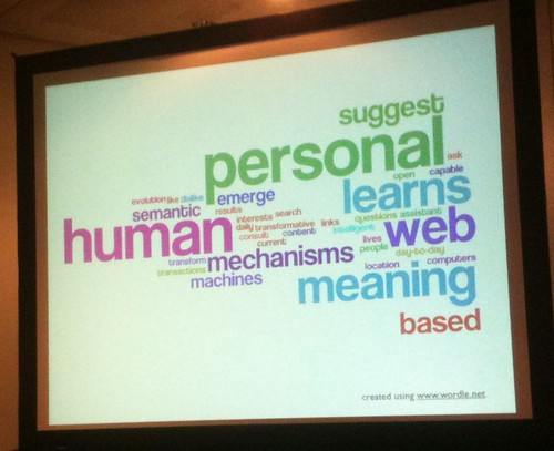Semantic Web, photo by Wesley Fryer