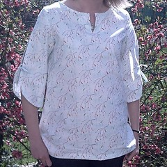 Tunic 'F' from Stylish Dress Book 1, by Sylvie