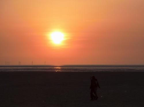 Sunset On Beach 1
