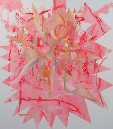 Charline von Heyl, Pink Vendetta, 2009 by 16 Miles of String