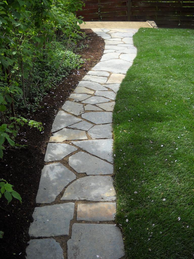 Walk Way Stones Pathways