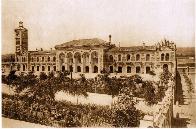 Estación de Ferrocarril de Toledo a comienzos del siglo XX