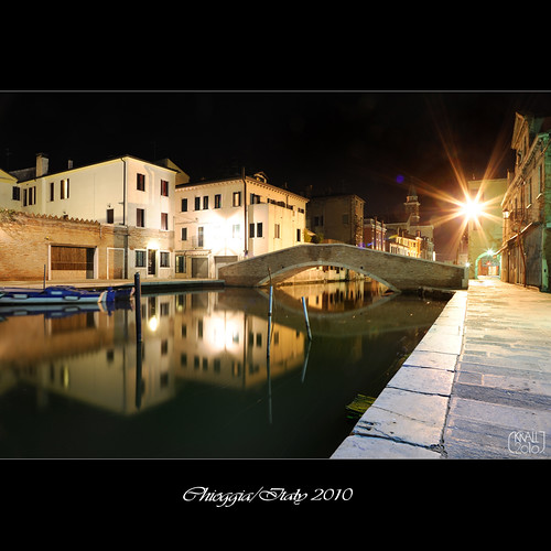 Chioggia by night