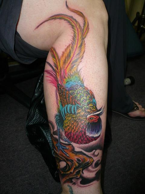 Tattoo by Donald Kwek, Utopia Studio, Singapore, on my friend Nathalie