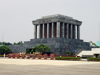 Image of  Ho Chi Minh Mausoleum.
