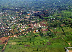 Rwanda from the air