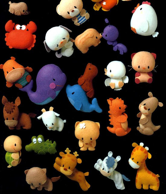 Felt Patterns Animals Free Patterns