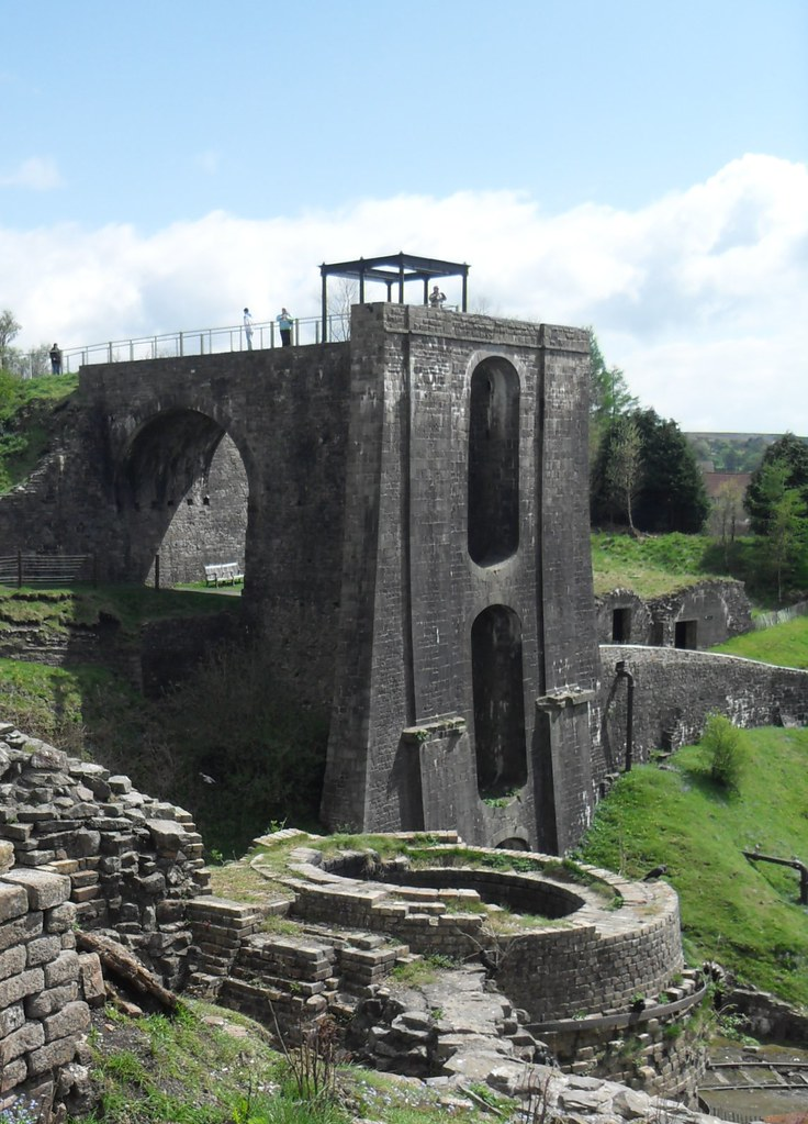 Top of a Blast Furnace: Blaenavon