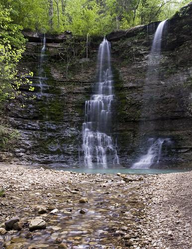 waterfall spring arkansas