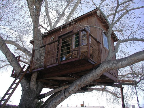 How to make a free standing treehouse just b cause for Free treehouse blueprints
