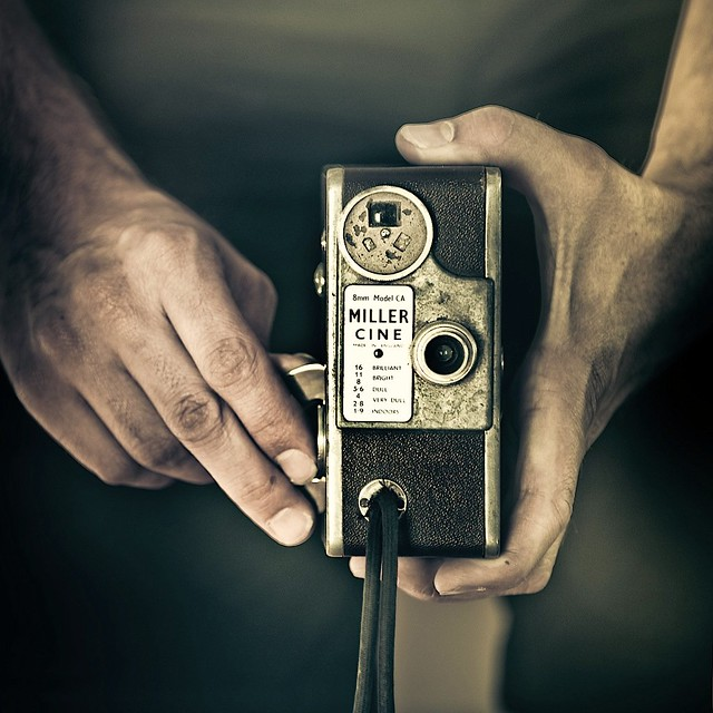 Vintage / Camera / Hands / Photography