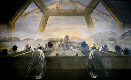 Salvador Dalí [artist) The Sacrament of the Last Supper