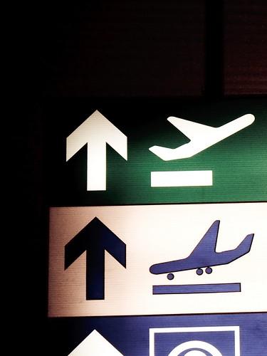 Departures. Arrivals.
