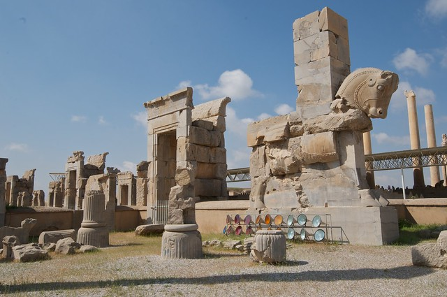 The Ruins of Persepolis, Iran by CC user adavey on Flickr