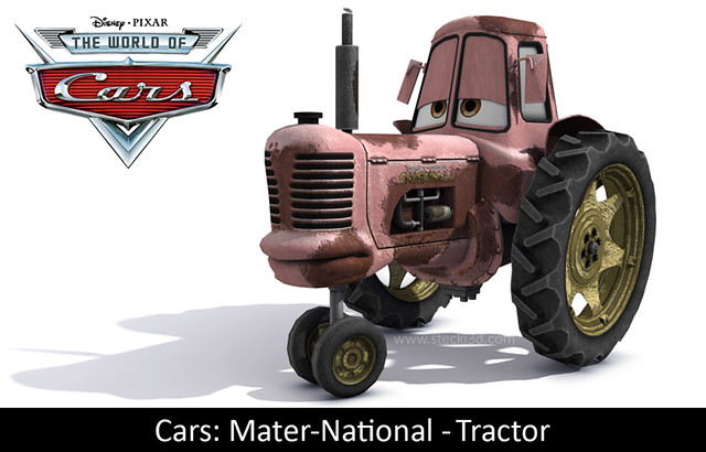 Tractor From Cars : Pixar cars tractor flickr photo sharing
