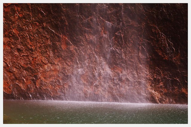 Uluru meets water