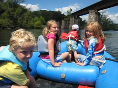 Rafting on the Middle Yough in Confluence