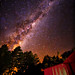 Milky Way over Flock Hill by Pepeketua