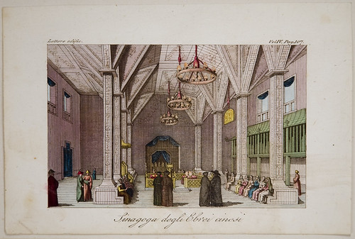 Print: [67.1.13.8] Sinagoga degli Ebrei cinesi (Synagogue of the Chinese Jews), 1827