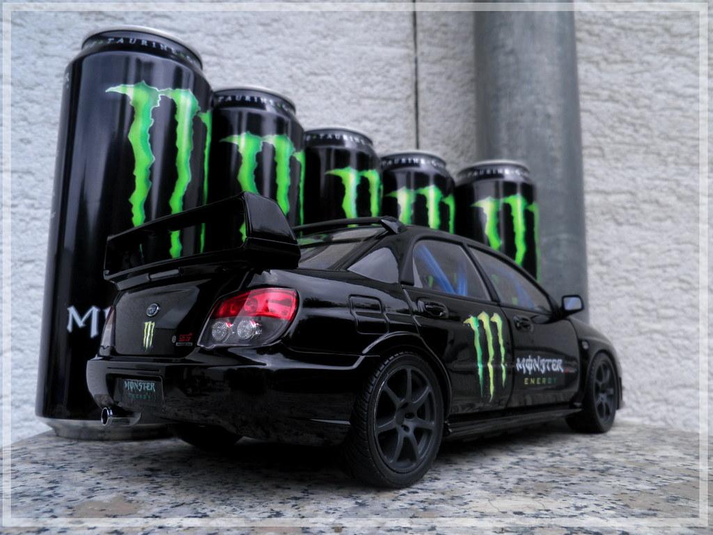 Superbe Subaru Impreza WRX STI U0027Monster Energy Drinku0027