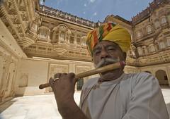 Flute Player | Rajasthan | Mehrangah Fort | Jodhpur
