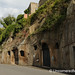 Garages Carved into Volcanic Rock - Pitigliano, Tuscany