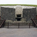 Entrance to the Newgrange tomb by broox
