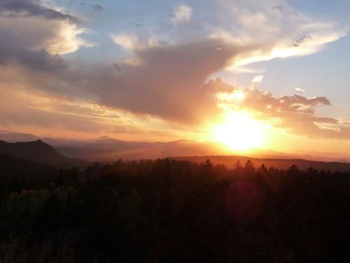 park sunset colorado state mueller