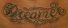 dreamer_lettering_tattoo by Chris Posey  Southside