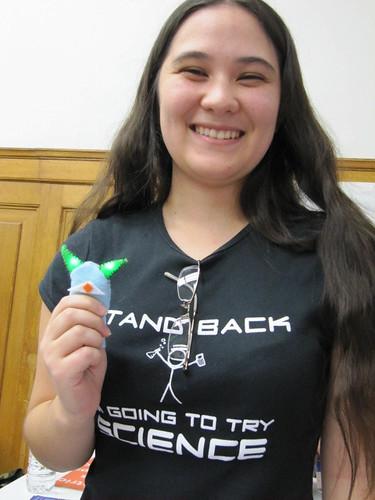 Spins & Needles @ Mini Maker Faire | Ottawa | November 2010