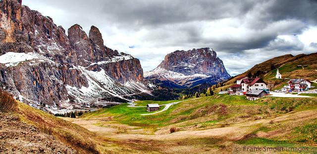 Passo di Gardena - Dolomiti - Italia