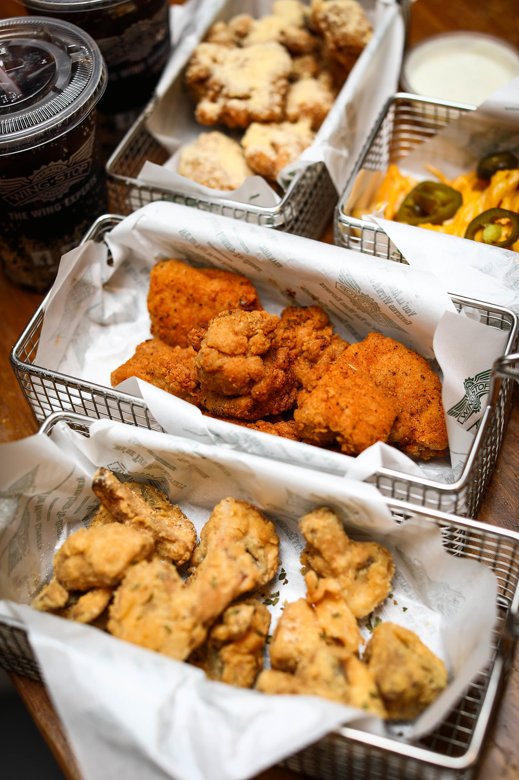 City Square Mall Food: WingStop