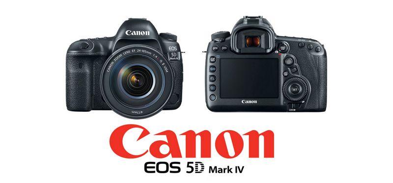 Le Canon 5D Mark IV : Le C-Log enfin disponible mais il y ne sera pas gratuit !