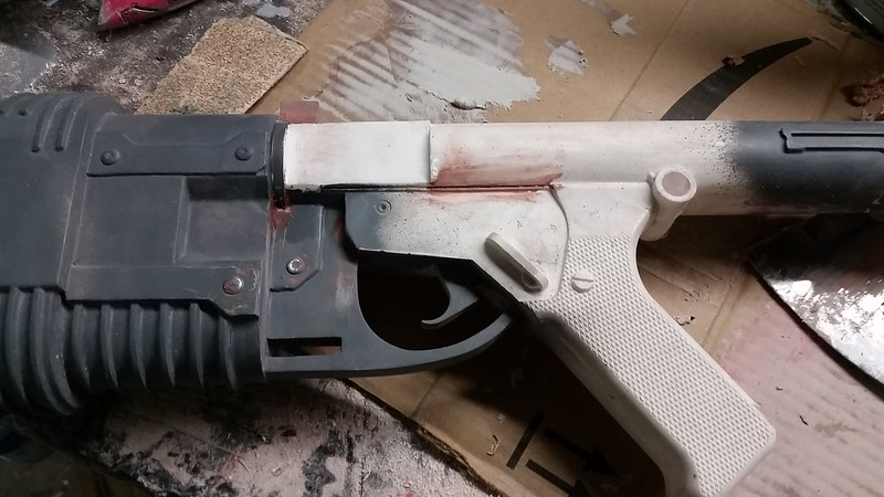 E-22 Mag Well Removed
