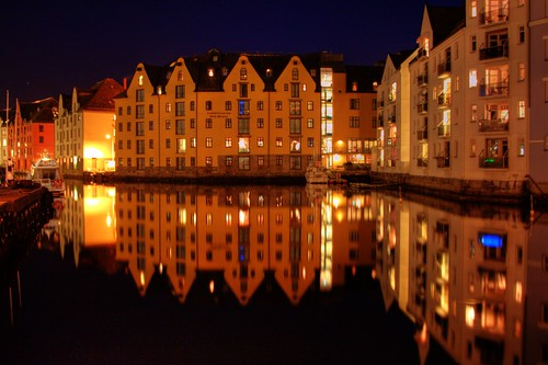 Ålesund @ Night