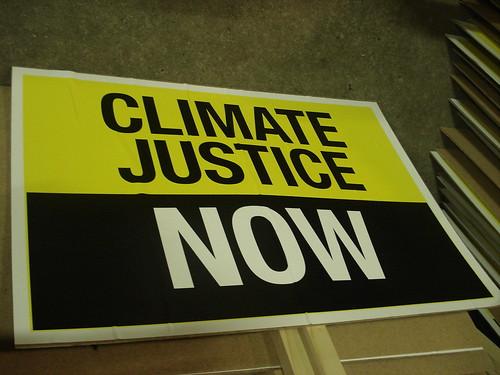 气候公正,现在就要