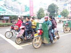 rickshaw(0.0), pedestrian(0.0), scooter(1.0), vehicle(1.0), motorcycle(1.0), motorcycling(1.0), vespa(1.0),