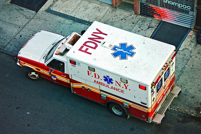 photo of ambulance