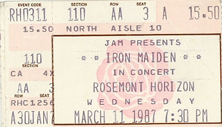 Iron Maiden 1987