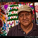Vendor at market, Chichicastenango, Guatemala