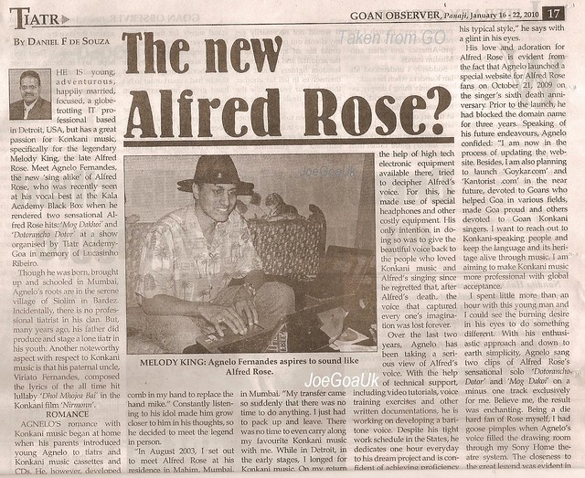 New Alfred Rose or new Melody King?
