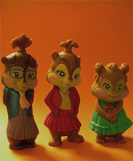 My repainted Chipettes