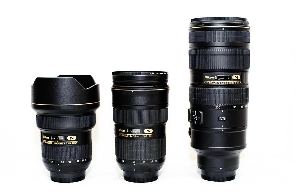 Nikon's New Holy Trinty