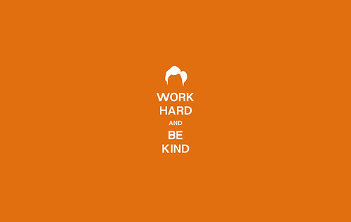 Work Hard And Be Kind Wallpaper