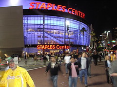 Staples Center, L.A.