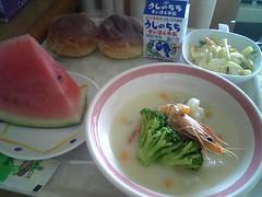入院5日目 昼食