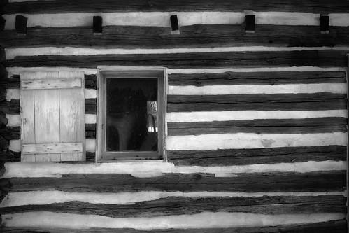 winter southcarolina logcabin aiken loghouse