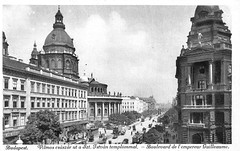 Old postcards of Budapest – Boulevard of Emperor William