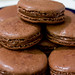 Herme's Chocolate Macarons with Nutella Filling by urbanfoodie33